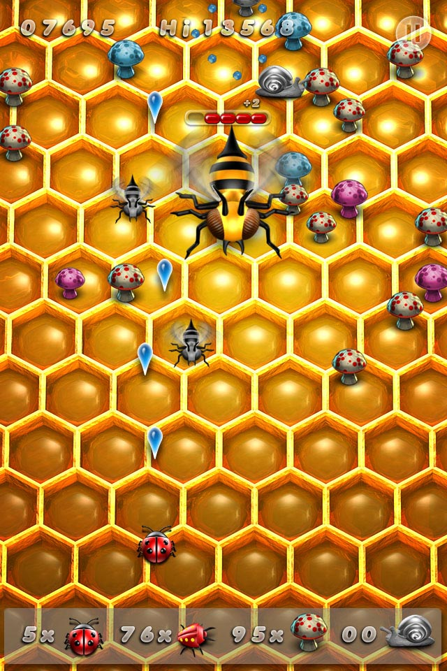 Hummingz EVO - Bee Boss fight